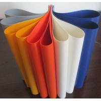 Buy cheap Colorful PVC Coated Tarpaulin Polyester Fabric In Roll 1000D X 1000D 20X20 650 from wholesalers