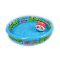 Buy cheap Adults Giant Dia Inflatable Ring Pool,Portable Swimming Pool  Silk Screen Print from wholesalers
