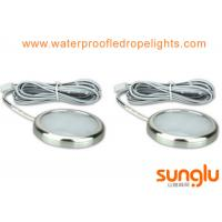 Buy cheap 4500K Aluminum 3W LED Under Cabinet Lighting ,Chrome Finish for Counter Closet from wholesalers