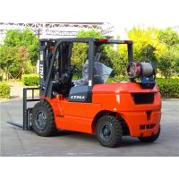 Buy cheap 4.5m Lifting Height 4.5 Ton Forklift , LPG Gas Operated Forklifts 2 Stage Mast from wholesalers