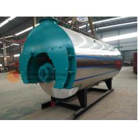 China Oil Fired Central Heating Boilers , Horizontal Steam Boiler 40.37-1448 NM3 Consumption on sale