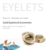Buy cheap Gold Color Metal Eyelets Washer product