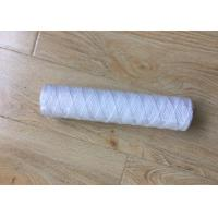 China 10 Inch 5 Micron PP Yarn String Wound Water Filter Cartridge for Water Purifier on sale