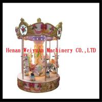 Buy cheap 6 seats musical carousel horse for kids and adults product