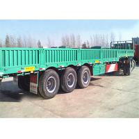 Buy cheap 2 / 3 / 4 / 5 / 6 Axles 60-100Tons Semi Trailer / Cargo semi Trailer For Sale product