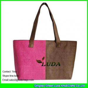 Buy cheap LUDA unique handbags summer beach paper straw ladies handbag product