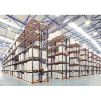 China Beam Type Industrial Pallet Racks Suits for Single Species Products on sale