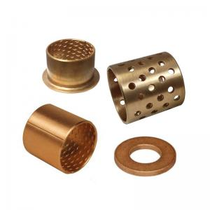 Buy cheap CuSn8P FB090 Wrapped Bronze Bearing With Grease Pockets product