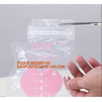Buy cheap Customized disposable plastic baby breast milk refrigerator refrigerated storage packing bag,breast milk storage bag mil product
