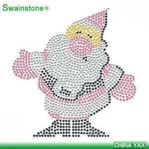 Buy cheap Christmas custom rhinestone transfer,flake rhinestone custom transfer product