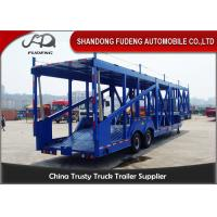 Buy cheap Customized Skeleton Shape Car Carrier Trailer 2 Axle Carbon Steel Material product