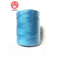 Buy cheap 100% Virgin Blue PP Twisted Hay Poly Baler Twine 1 - 3mm 25KD UV  -  Treated product