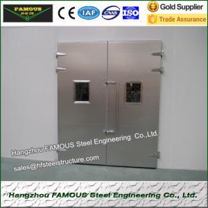дверь двери или холодильных установок холодной комнаты или дверь сэндвича пу