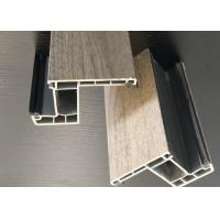Compression Resistance UPVC Window Extrusion Profiles For Low Energy Houses