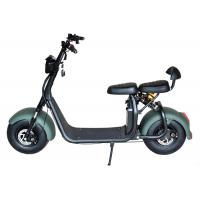 Buy cheap Alloy Material Long Distance Electric Scooter , Electric Scooter Citycoco Max Range 25-50KM product