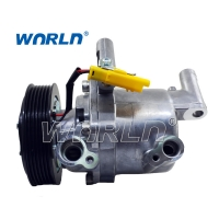 Buy cheap 88310-YV010-4 B000776180 813134 Auto AC Compressor DKV09Z For Toyota Aygo from wholesalers
