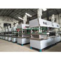 Buy cheap Semi-automated Pulp Molded Food Grade Tableware / Dinnerware Forming Machine product