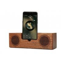 Buy cheap Mini Wooden Bluetooth Speaker , 1200mAh Battery Phone Charger Holder product