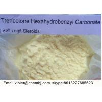 Buy cheap CAS NO. 23454-33-3 Tren Anabolic Steroid Trenbolone Hexahydrobenzyl Carbonate product