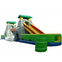 Buy cheap 4 In 1 Children Inflatable Bouncer Combo With Slide / Bridge / Tunnel And Jumper product