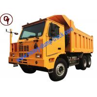 HOWO Steyr 50T Mining Dump Truck with Single Side Cab Euro 2 Emission Standard