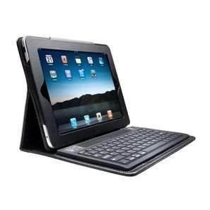 Clavier noir ou blanc de Bluetooth de caisse de cuir d'unité centrale de couleur avec le point de droit pour iPad2