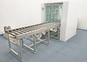 Buy cheap Cleanroom Steel Air Shower Pass Box And Automatic Roller Conveyor product