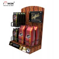 Buy cheap Lure Clients Counter Display Racks Coffee Bag Promotional Retail Food Display Countertop from wholesalers