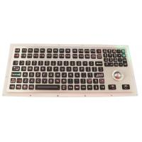 Buy cheap Backlit Industrial Ruggedized Keyboard IP67 116 Keys With Numeric Keypad product