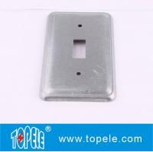Buy cheap TOPELE 20C5はトグル スイッチのための鋼鉄長方形の平らな空白装置スイッチ・カバーに電流を通しました product