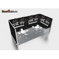 Buy cheap Portable Modular Trade Show Booth 3x3 Exhibition Stand Size Easy Set Up product