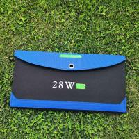 Buy cheap 28W Foldable Solar Charger for Laptops/Mobile Phones/DV/MP3/MP4 Players/PSP/PDA product