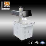 Buy cheap La marca portátil del laser de la fibra del diseño hábil trabaja a máquina el OEM/el ODM disponibles product