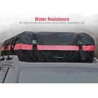 Buy cheap 10 Cubic Feet Roof Top Bags For Cars With Water Resistant PVC coated 600D Nylon product