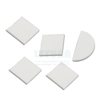 Buy cheap Big square PE plate filter 5 microns micro porous sintered PE fluidization filter plate with polyethylene elements sintering product
