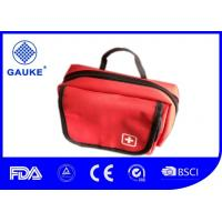 Waterproof Red Earthquake Emergency Bag Medical Survival Kits With Handle