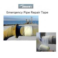 Quality Industrial and Household Plumbing Fiberglass coated with Polyurethane Pipe Repair Tape for sale