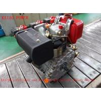 China 0.247L Displacement Air Cooled Diesel Engine With Recoil Start / Electric Satrt System on sale