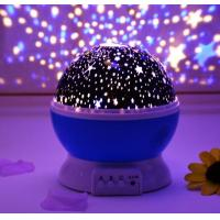 Buy cheap Romantic Room LED USB Rotating Star Projector Sky Night Lamp With Music product