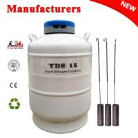 Buy cheap TianChi 15L Liquid Nitrogen Container YDS-15-80 Cryogenic Dewar Vessels Price product