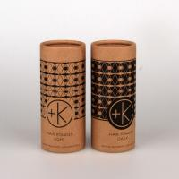 China Customized Kraft Paper Tube Packaging With CMYK Printing / Pantone Color Printing on sale
