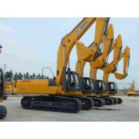China Diesel 0.34m³ Hydraulic Crawler Crane XCMG XE80 for Construction , Yellow on sale