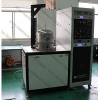 Buy cheap Batch Inductive Thermal Evaporation Coater , Jet Bell Vacuum Metallizing Machine For Lab Application from wholesalers