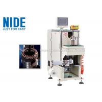 Buy cheap NIDE stator coil lacing machine with CNC control design and HIM program product