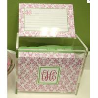 Quality Hot Sale!!! Factory Handmade Manufacturing Acrylic Clear Recipe Card Box for 4x6 for sale