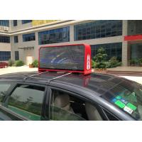 China Outdoor Full Color Taxi LED Display PH5 with 12288 Pixels Each Side and W 32 x H 32 dots Module wholesale