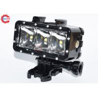 Buy cheap Underwater 30m Sports Camera Accessories , LED Waterproof Video Light For Sj4000 product