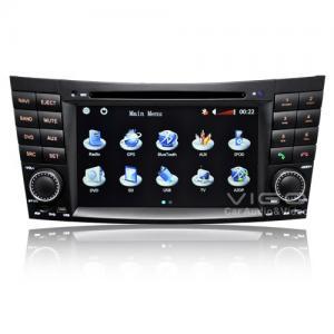 Buy cheap Portable Mercedes Benz Sat Nav DVD product