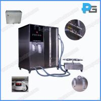 Buy cheap IPX5 and IPX6 Waterproof Testing Machine environment test chamber Includes turntable Jet nozzle made by stainless steel product