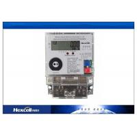 Buy cheap Single Phase Electronic Energy Meter , Static Multifunction Energy Meter product